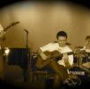 Diego Valente alla chitarra